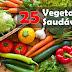 Top 25 vegetais saudáveis