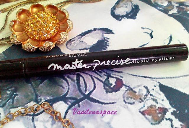 Подводка-Maybelline-Master-Precise-vasilenaspace.blogspot.com
