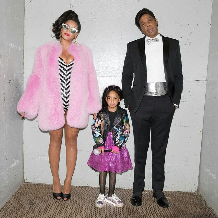Beyonce, Jay Z and daughter Blue Ivy step out for Halloween