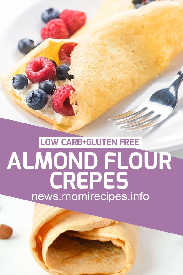 Almond Flour Crepes   Low Carb + Gluten Free   low carb, Dessert Recipes Easy, Dessert Recipes Healthy, Dessert Recipes For A Crowd, Dessert Recipes Peach, Dessert Recipes Simple, Dessert Recipes Best, Dessert Recipes Fall, Dessert Recipes Chocolate, Dessert Recipes For Summer, Dessert Recipes Videos, Dessert Recipes No Bake, Dessert Recipes Fancy, Dessert Recipes Cake. #ketorecipe #lowcarb #glutenfree #almondflourcrepes #dessertrecipe #ketodessert