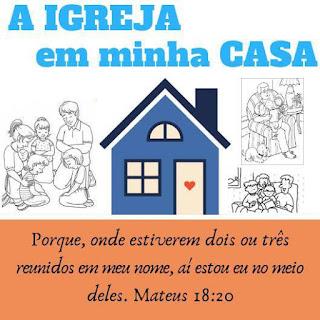 A Igreja em minha Casa ( Triagem ) Grupo de WhatsApp