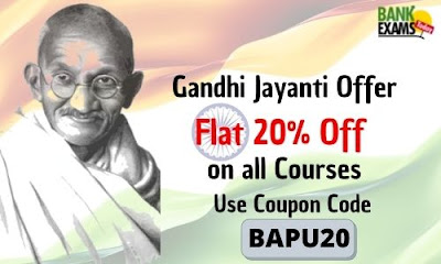 Gandhi Jayanti Offer on BankExamsToday