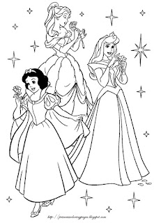 Crayons and Checkbooks: Free Disney Princess Coloring Pages