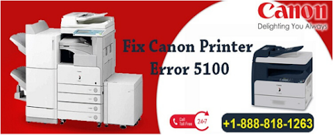 How To Fix Canon Printer Error Code 5100