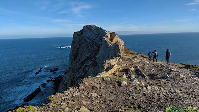 Camino a la Peña la Gaviera, Cabo de Peñas