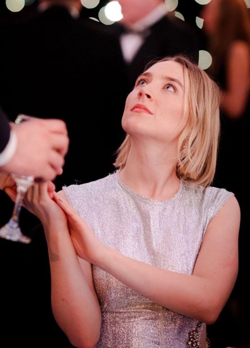 Saoirse Ronan Clicked At Bafta Scotland Awards In Glasgow 03-Nov 2019