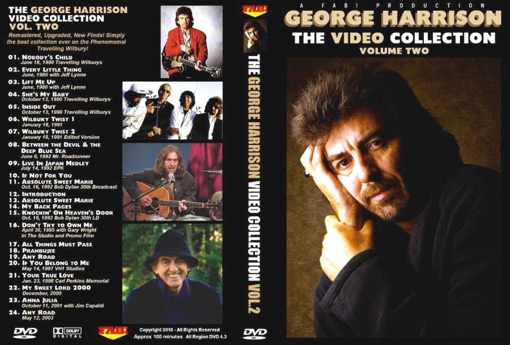 George Harrison - The Video Collection Vol.2 DVD