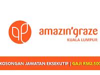Jawatan Kosong di AmazinGraze KL - Eksekutif | Gaji RM2.500++