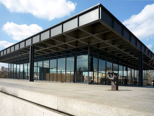 Berlim - reabertura da Neue Nationalgalerie