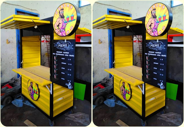 Booth makanan,Booth Container,Booth semi container
