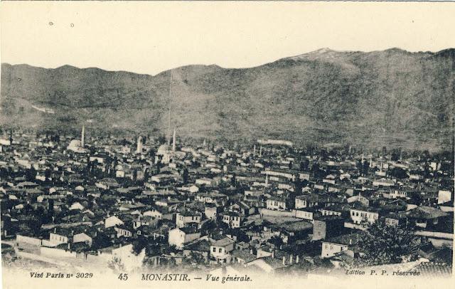 Panorama of Bitola, 1917