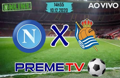 Napoli x Real Sociedad Ao Vivo