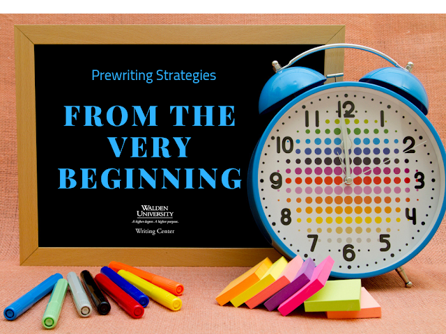 Prewriting strategies from the very begnning