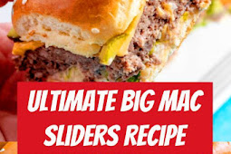 The Ultimate Big Mac Sliders Recipe #familyfreshmeals #appetizer #bigmac #copycat #easyrecipe #sliders