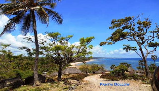 Pantai Bollow Pantai Terindah Di Sabu Raijua, NTT