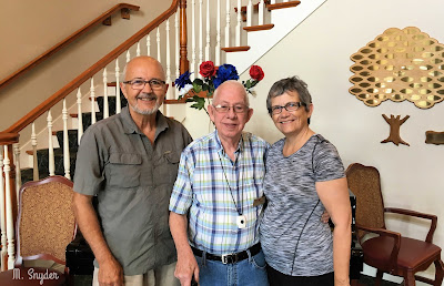 August 2, 2019 Saying goodbye to Great John.