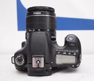 Jual Canon eos 60D + Kit Bekas