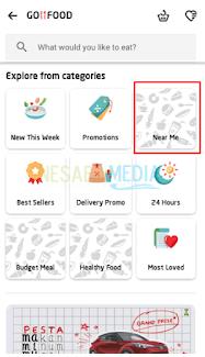 Cara Pesan/Order Makanan Dari Ponsel Di GO-FOOD Melalui Aplikasi GO-JEK (Lengkap Dengan Gambar)