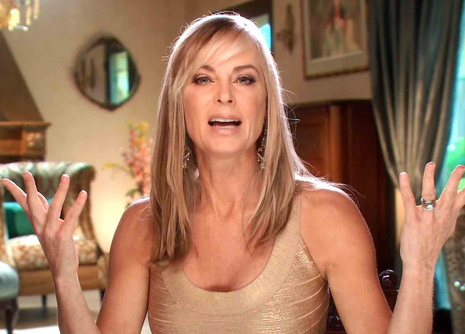 Eileen Davidson on the young and the restless