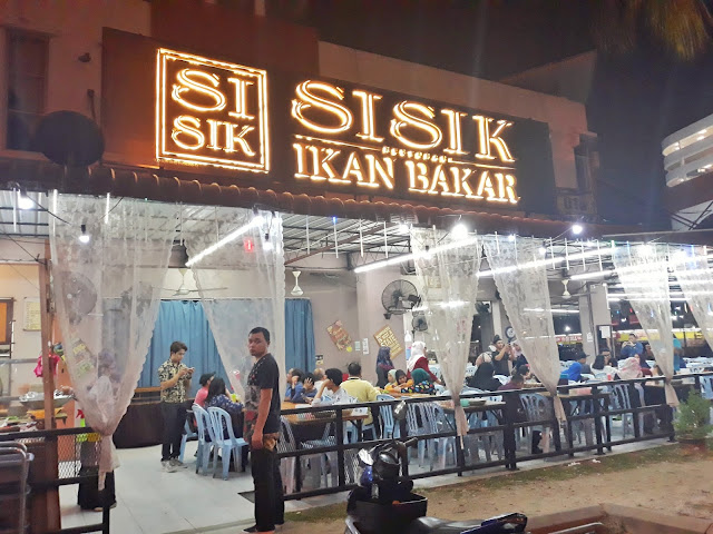 restoran sisik ikan bakar, restoran sisik menu, resepi warisan tok sisik, nasi lemak sisik buluh perindu,