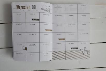 Kalendarz szkolny Interdruk z Biedronki 2020/2021