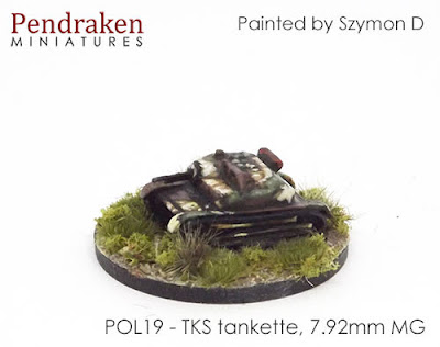 POL19 TKS tankette, 7.92mm MG (2)