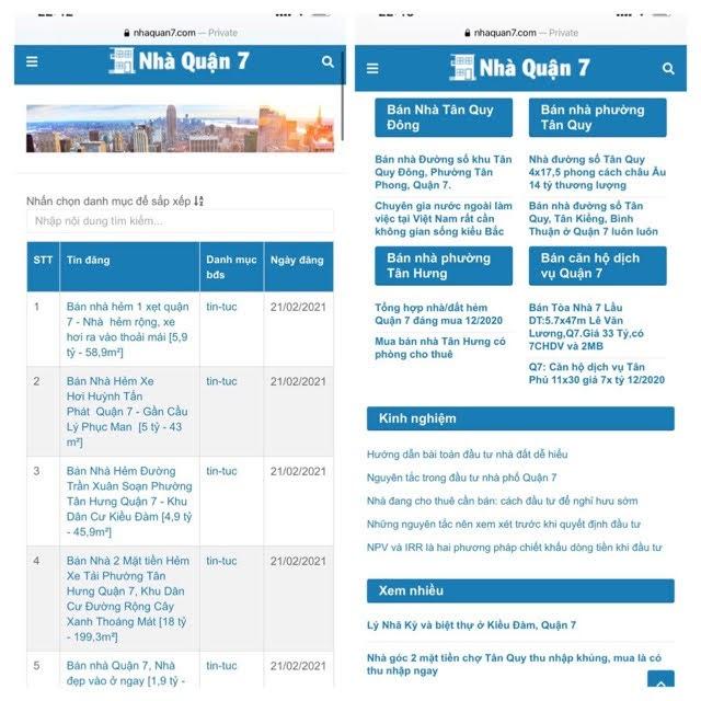 Góc nhìn, đánh giá tình hình nhà đất Quận 7 sau Tết Tân Sửu tháng 3/2021