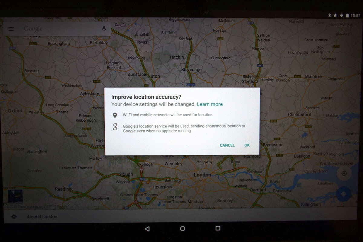 Paul S Pontifications Google Maps On Android Demands I Let Google