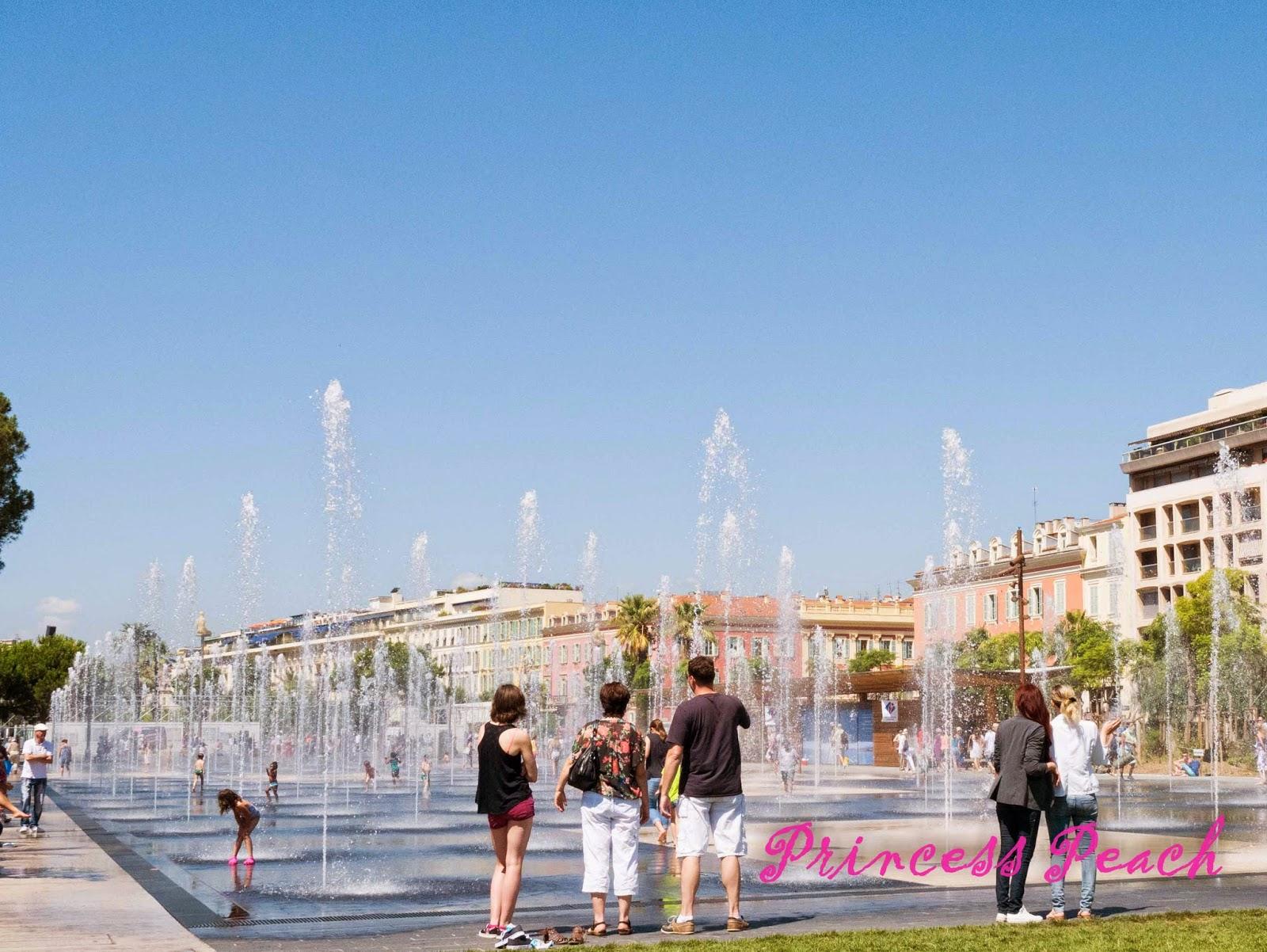 噴水池廣場-Miroir-d'eau