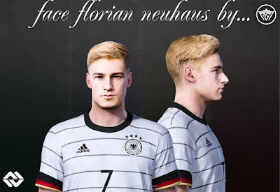 PES 2021 Faces Florian Neuhaus by Ali Fakharan