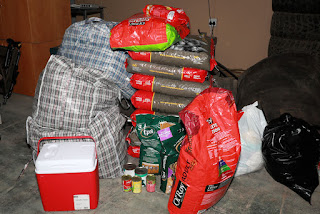 Relief dog food for Knysna fires victims
