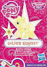 My Little Pony Wave 18 Golden Harvest Blind Bag Card