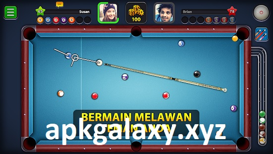8 Ball Pool Mod Apk Guideline Trick No Root