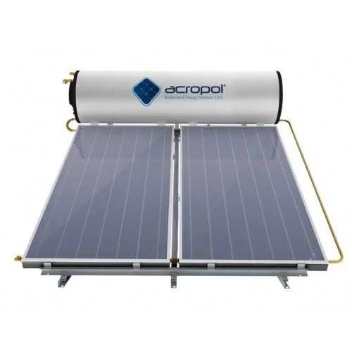 أكروبول سخان مياه على الطاقة الشمسية بسعة 300 لتر
