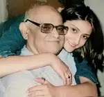 urvashi dholakia with her father