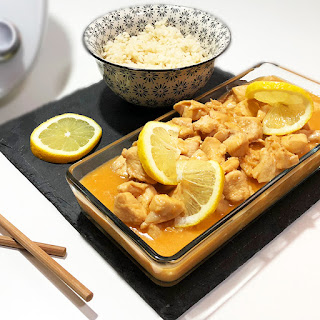 Pollo al Limón estilo Oriental
