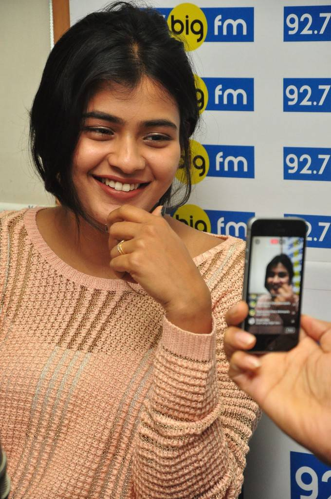 Tollywood Actress Without make up Face Hebah Patel