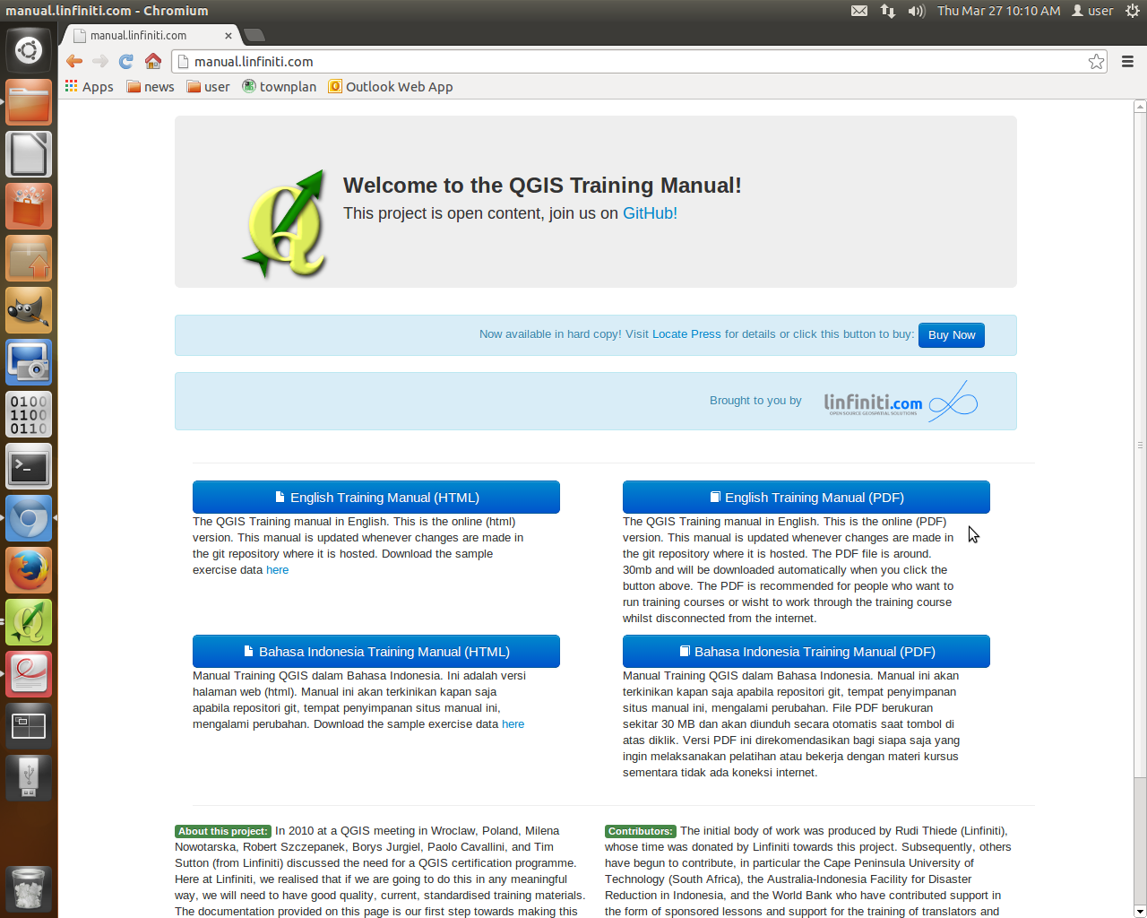 QGIS MALAYSIA: Quantum GIS Training Manual