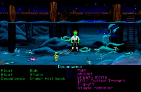 The Secret of Monkey Island Guybrush muerto