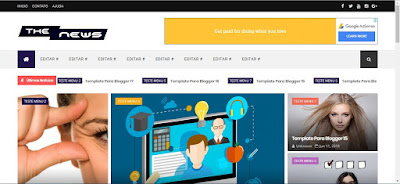 Blogger Template 1228