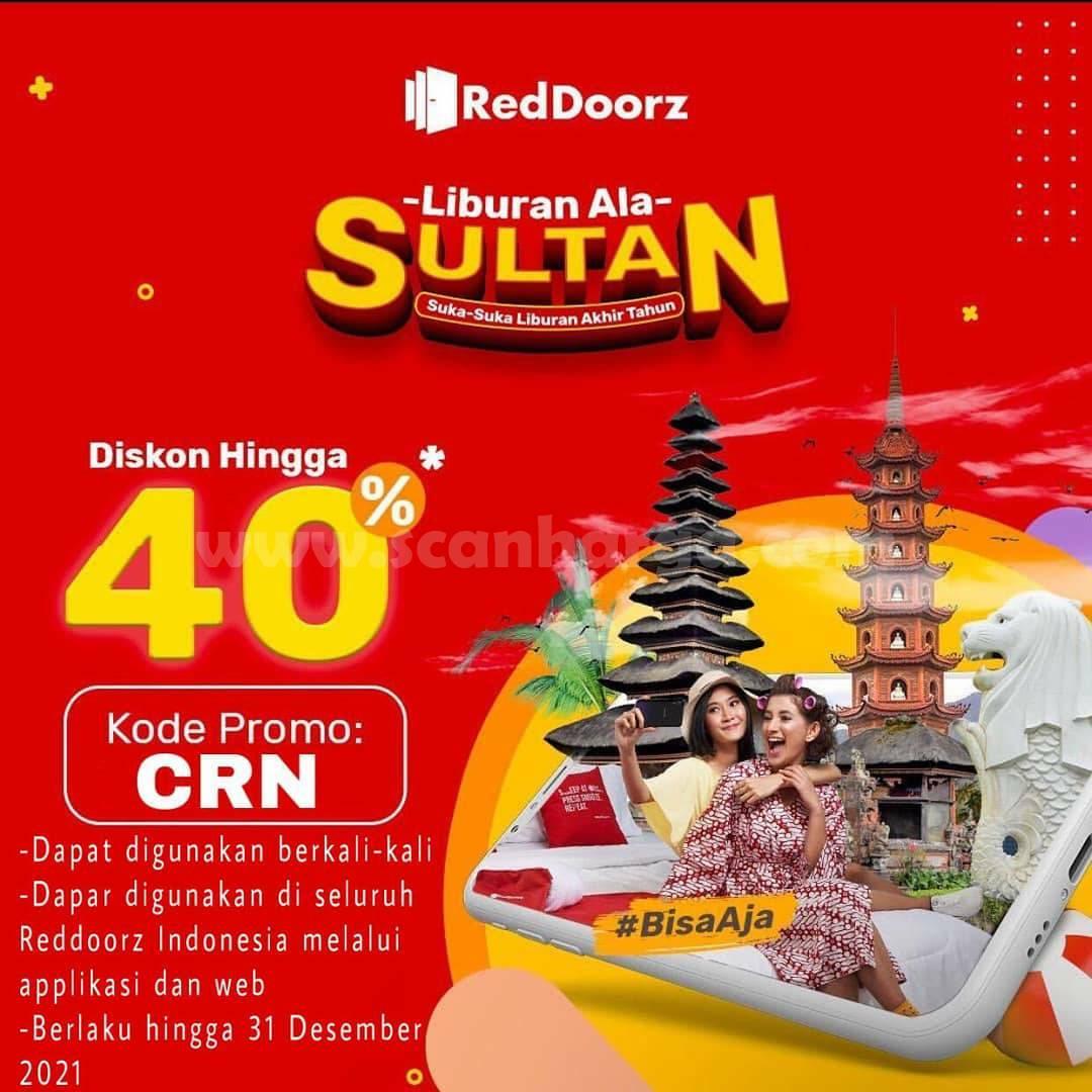 Promo RedDoorz Liburan Ala Sultan Diskon hingga 40%