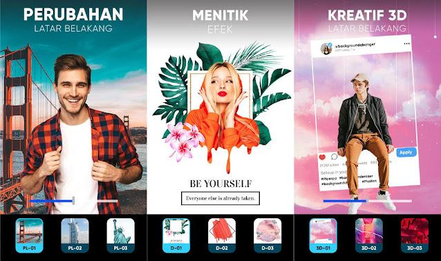 7 Aplikasi Edit Background Foto di Android Terbaik