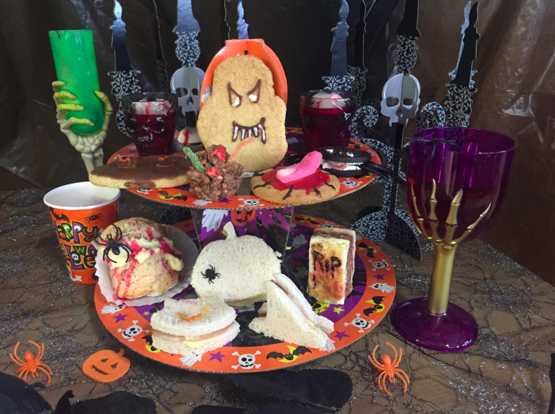 What's On for Kids - October Half Term | North East England - Halloween Afternoon Tea