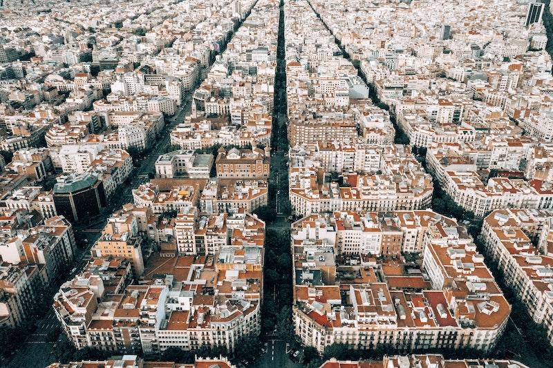 Эшампле или Новый город в Барселоне