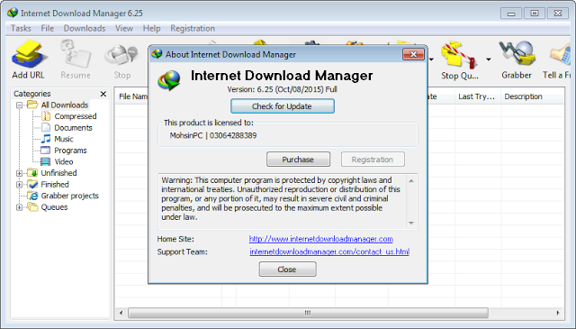 free idm full crack and serial number