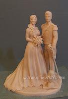 scultura da foto ricordo matrimonio idea regalo san valentino coppia statuetta orme magiche