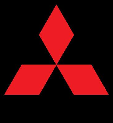logo mitsubishi, mitsubishi