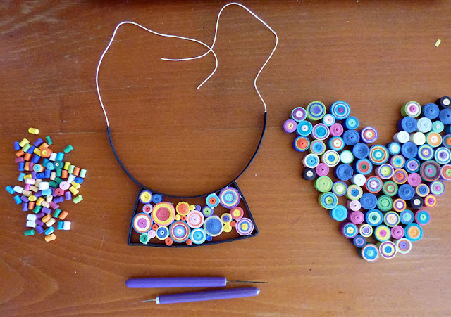 Circul Magic Quilling Necklace, Of Life