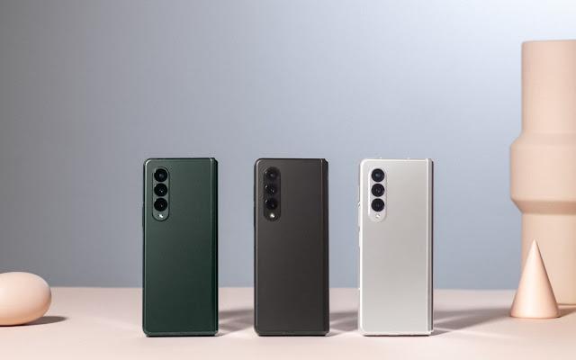 الإعلان عن هاتف سامسونج Galaxy Z Fold3 بتصنيف IPX8 ودعم S Pen وكاميرا تحت الشاشة