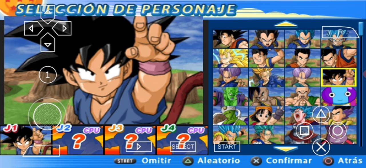 DBZ BT3 MOD PSP ISO with Permanent Menu